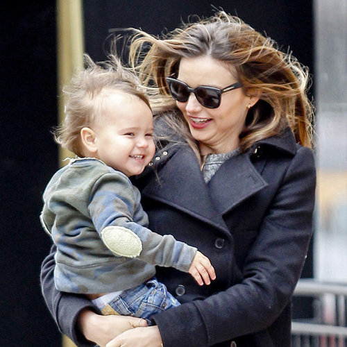 Flynn Bloom's Cutest Pictures With Miranda Kerr and Orlando