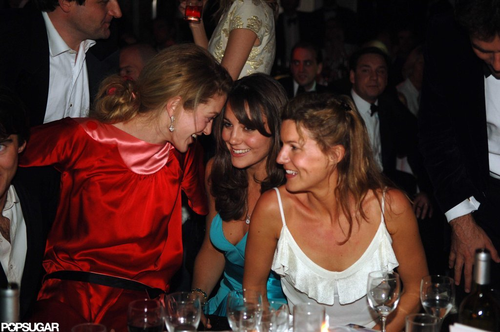 In June 2006, Kate Middleton had a blast with friends at the Boodles Boxing Ball in London.