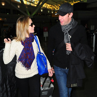 Emily Blunt and John Krasinski at JFK | Pictures