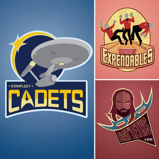 The Star Trek Universe as Sports Teams