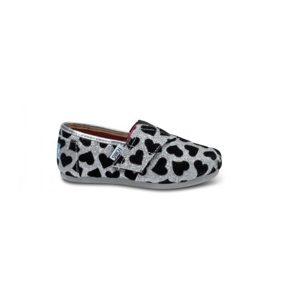 Silver Hearts Tiny Toms