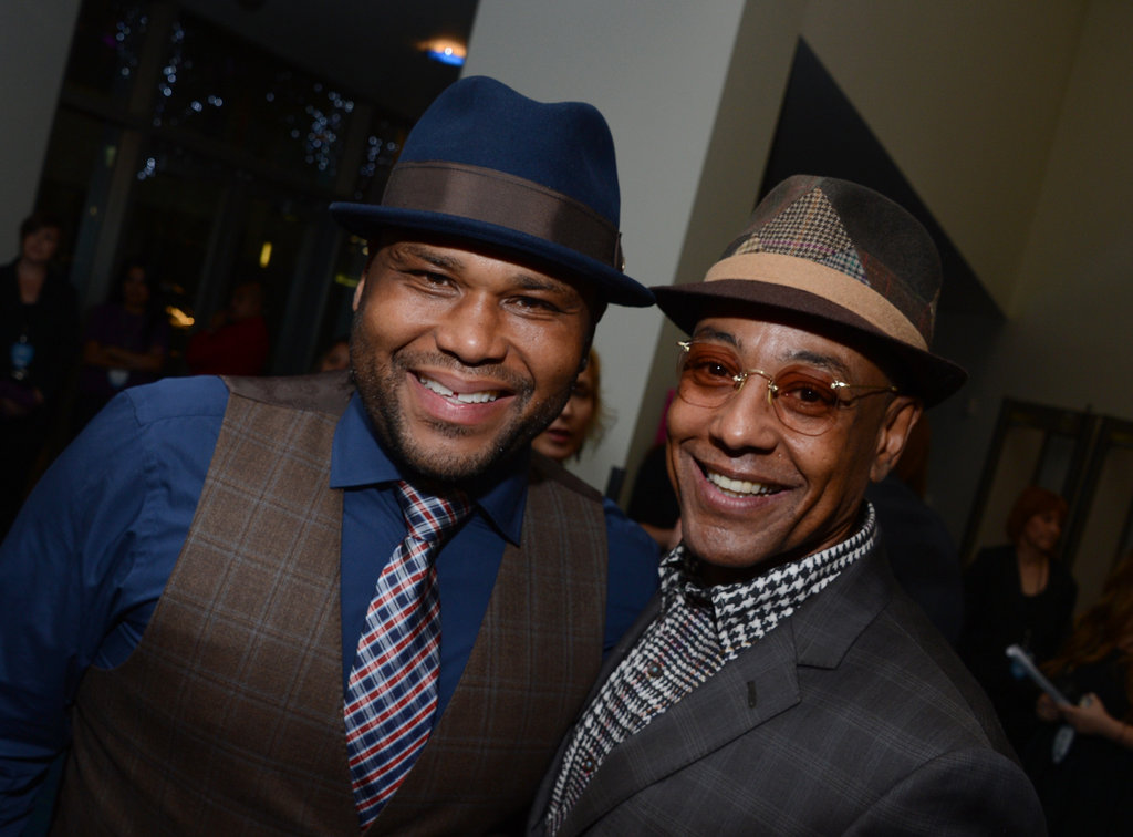 Anthony Anderson and Giancarlo Esposito