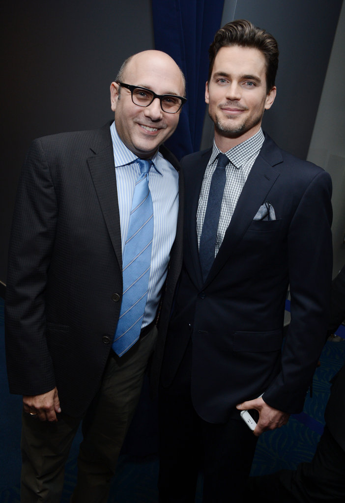 Willie Garson and Matt Bomer