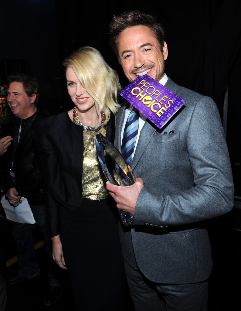 Naomi Watts and Robert Downey Jr.