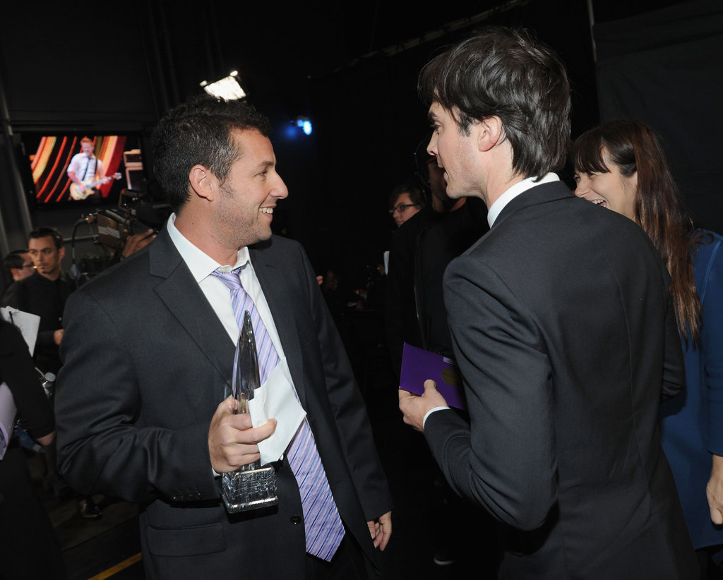 Adam Sandler and Ian Somerhalder