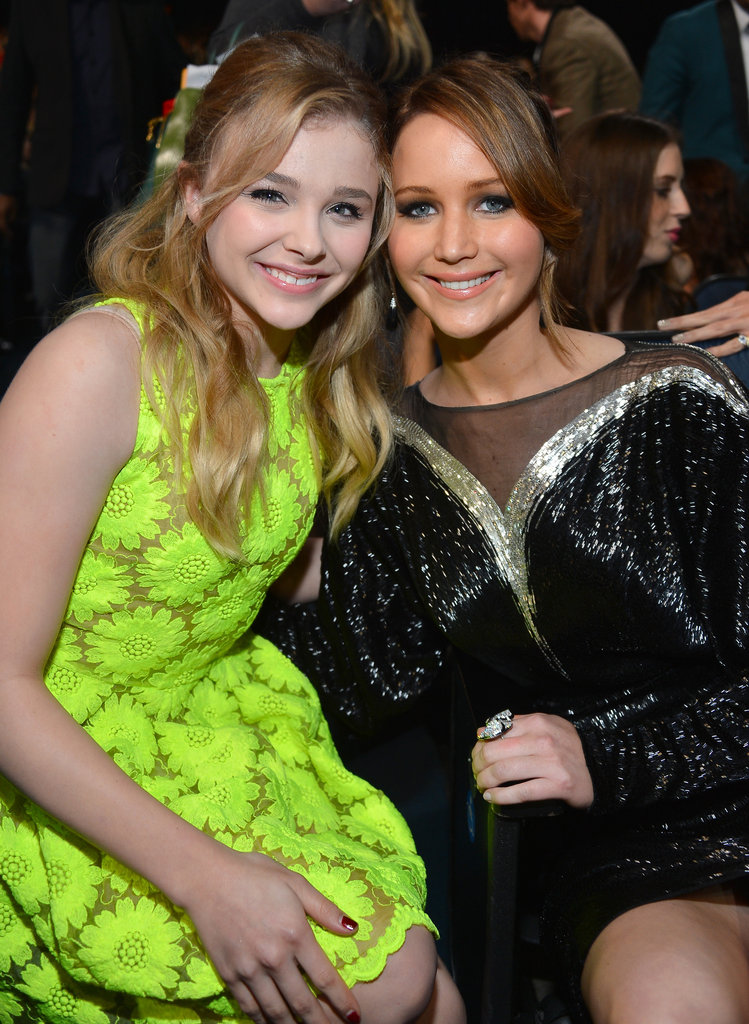 Chloë Moretz and Jennifer Lawrence