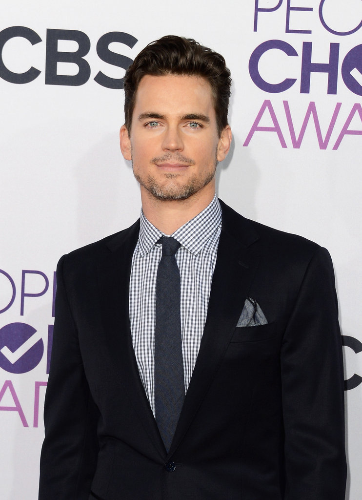 Matt Bomer looked dapper in a suit.