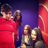 The girls from Girls made a stop at the Today show to promote the show's second season. Source: Twitter user todayshow