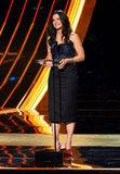 Sandra Bullock Hits PCAs to Accept Favorite Humanitarian Honors
