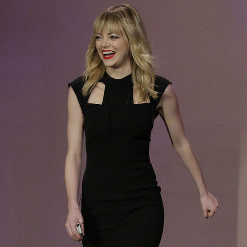 Emma Stone on Jay Leno | January 2013