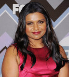 Mindy Kaling attended the FOX All-Star Party.