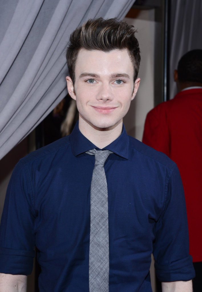 Glee's Chris Colfer stepped out for the People's Choice Awards.