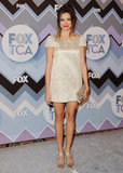 Noureen DeWulf arrived at the FOX All-Star Party.