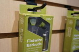 Flatwire earbuds by Gaiam.