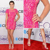 Lea Michele at People's Choice Awards 2013