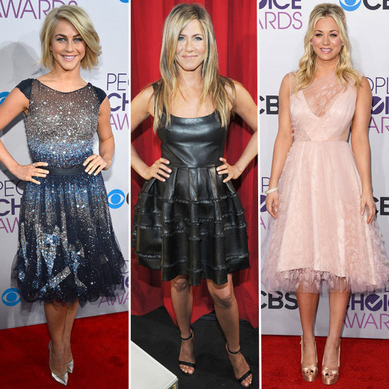 People&#039;s Choice Awards Dress Trend: Fit-and-Flare Dresses