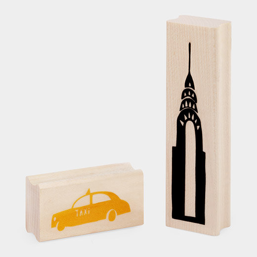 MoMA New York City Stamp Set