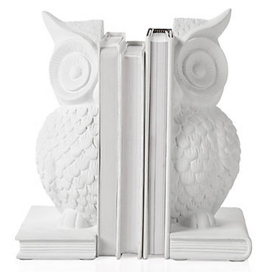 Keep your favorite reads in line with these owl bookends ($30 for two).