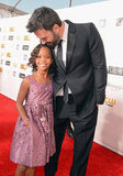 Ben Affleck and Quvenzhané Wallis