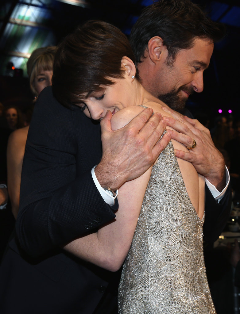 Hugh Jackman and Anne Hathaway