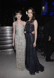 Anne Hathaway and Emmy Rossum