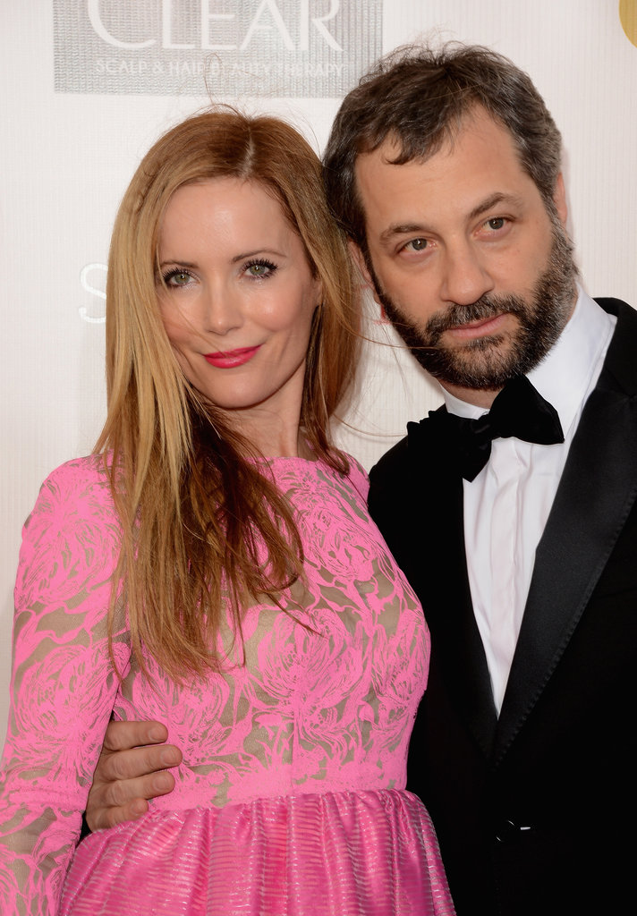 Leslie Mann and husband Judd Apatow got together on the red carpet.