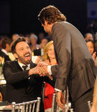 Bradley Cooper Makes the Rounds With Ben, Jennifer, and More at Critics' Choice
