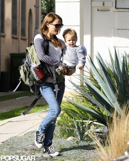 Natalie Portman and Her Son Aleph Have a Casual Day in LA