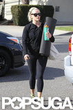 Reese Witherspoon walked back to her car after a fitness class.