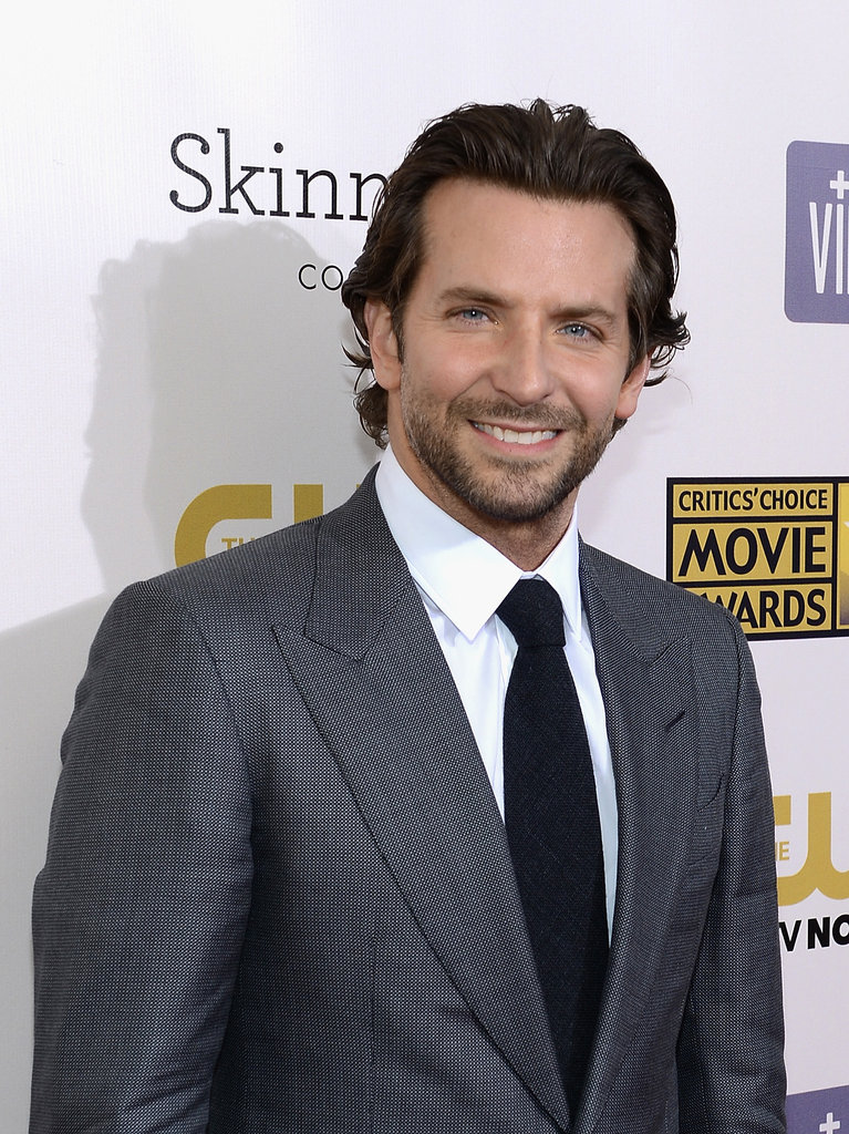 Bradley Cooper Makes a Sexy Entrance in Gray at the Critics' Choice Awards