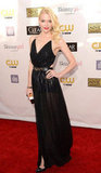 Jaime King arrived at the Critics' Choice Awards in LA.