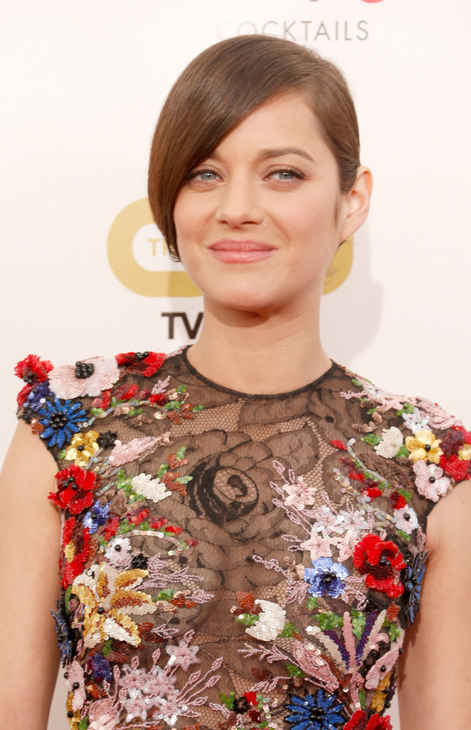 Marion Cotillard wore a floral Zuhair Murad gown to the Critics' Choice Movie Awards.