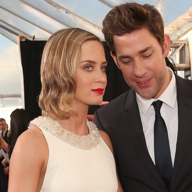 Emily Blunt and John Krasinski at 2013 Critics Choice Awards