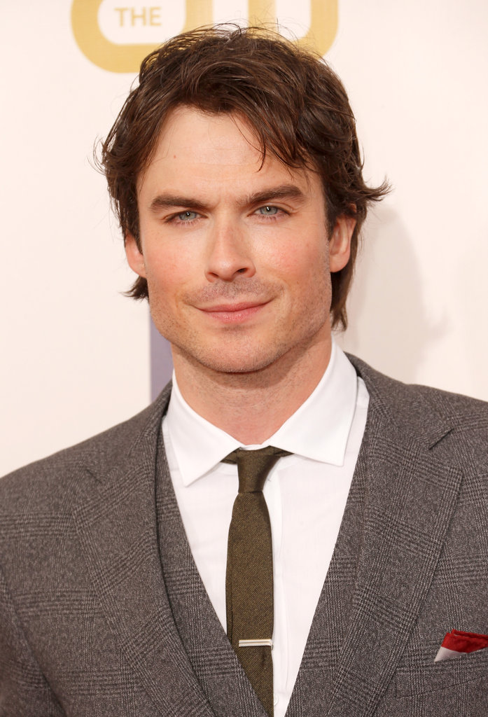 Ian Somerhalder hit the red carpet at the Critics' Choice Movie Awards.