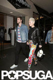 Miley Cyrus and Liam Hemsworth went to Noah's birthday party in LA.