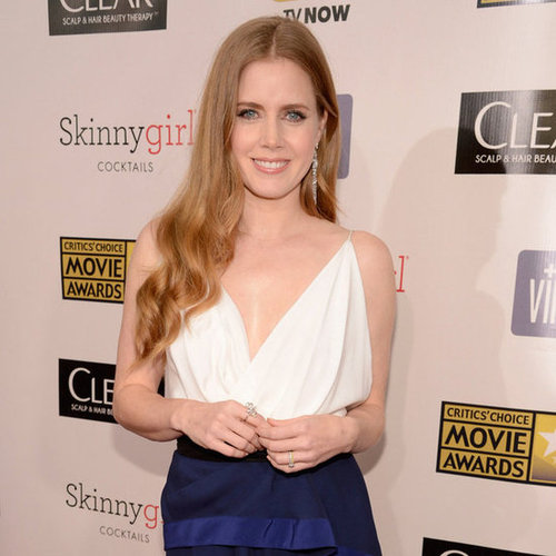 Amy Adams on Critics' Choice Awards Red Carpet 2013