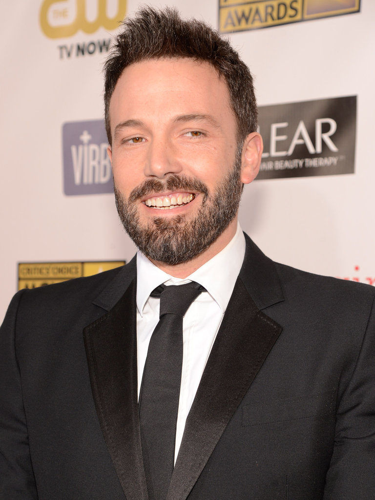 Ben Affleck Suits Up For the 2013 Critics' Choice Awards