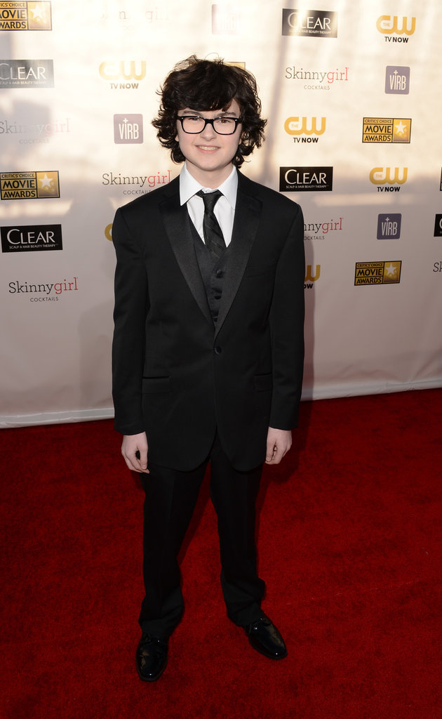 Jared Gilman arrived at the Critics' Choice Awards in LA.