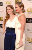 Amy Adams and Emily Blunt posed together at the Critics' Choice Awards.