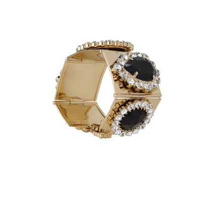 Wear this MSGM bracelet ($128, originally $315) with a crisp white blouse and pencil skirt for a decadent touch to your 9-to-5.