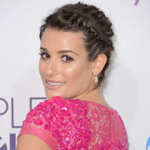 Pictures of Lea Michele at 2013 People's Choice Awards