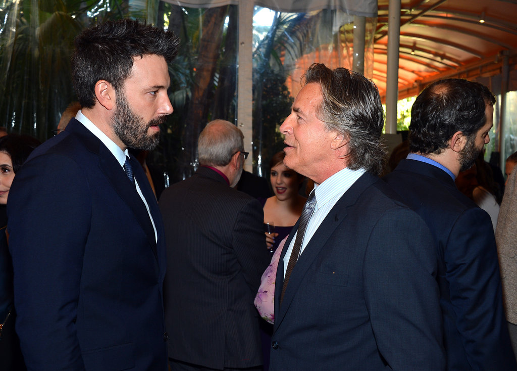 Ben Affleck said hello to Don Johnson.