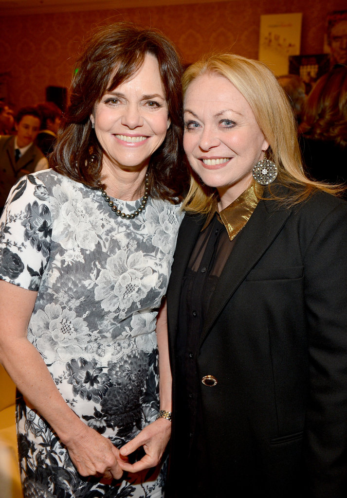 Sally Field and Jacki Weaver posed together.
