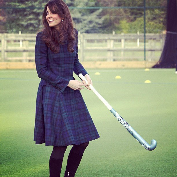 We wished a happy birthday to our favorite McQueen-wearing, field-hockey-playing princess, er, duchess this week!