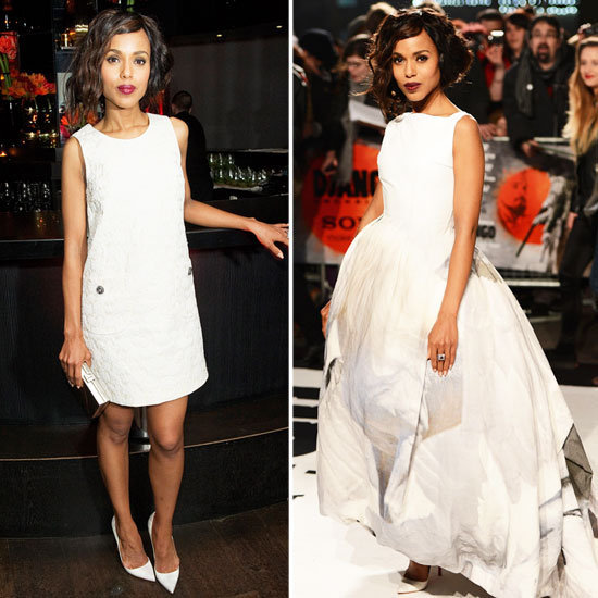 We can't decide which look from Django Unchained's Kerry Washington we like best.