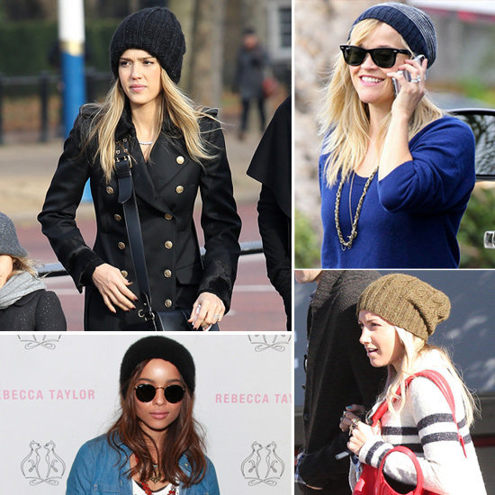 See why we're loving the celebrity beanie craze.