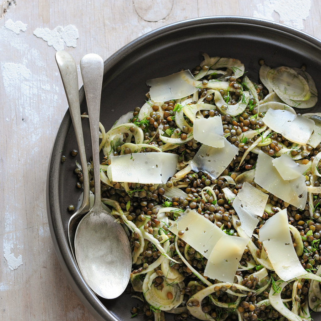 Lentil and Fennel Salad