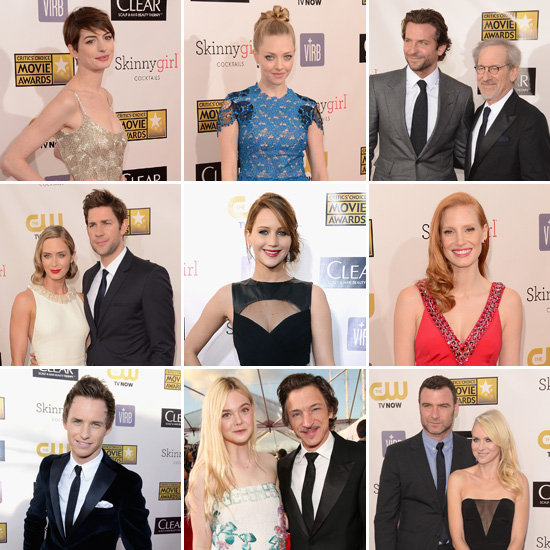 2013 Critics Choice Awards Red Carpet Celebrity Pictures