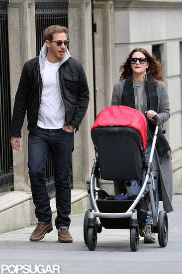Drew Barrymore, Will Kopelman, and Olive Kopelman had a family day out.