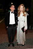 Brit Marling and Zal Batmanglij attended The Art of Elysium's sixth annual Heaven gala.